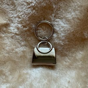 Sterling Silver Locket Style Handbag Keyring $24
